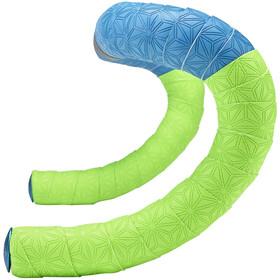 Supacaz Super Sticky Kush Starfade Handlebar Tape, neon green/neon blue